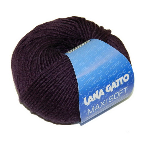 Lana Gatto Maxi Soft (5287) 100% меринос экстрафайн 50 г/90 м