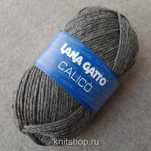 Lana Gatto Calico (05250) 50% меринос, 50% акрил 50 г/113 м