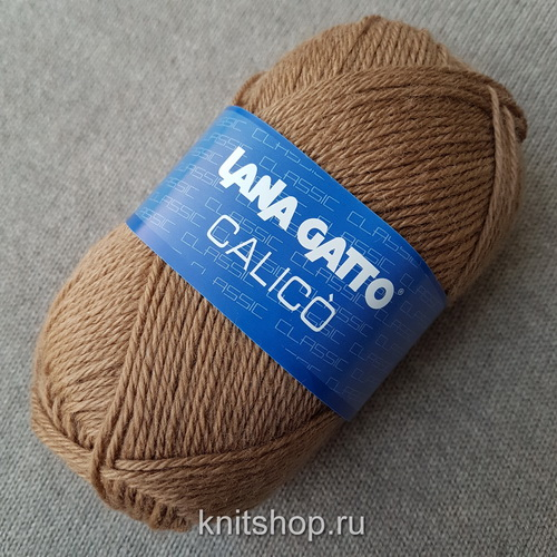 Lana Gatto Calico (12975) 50% меринос, 50% акрил 50 г/113 м