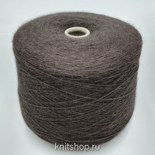 Nuvola (Brown шоколад) 60% меринос, 20% як, 20% альпака 550 м/100 гр
